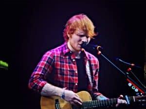 Ed Sheeran Playing Guitar