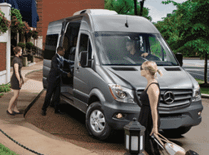 Drug Rehab Transport Van